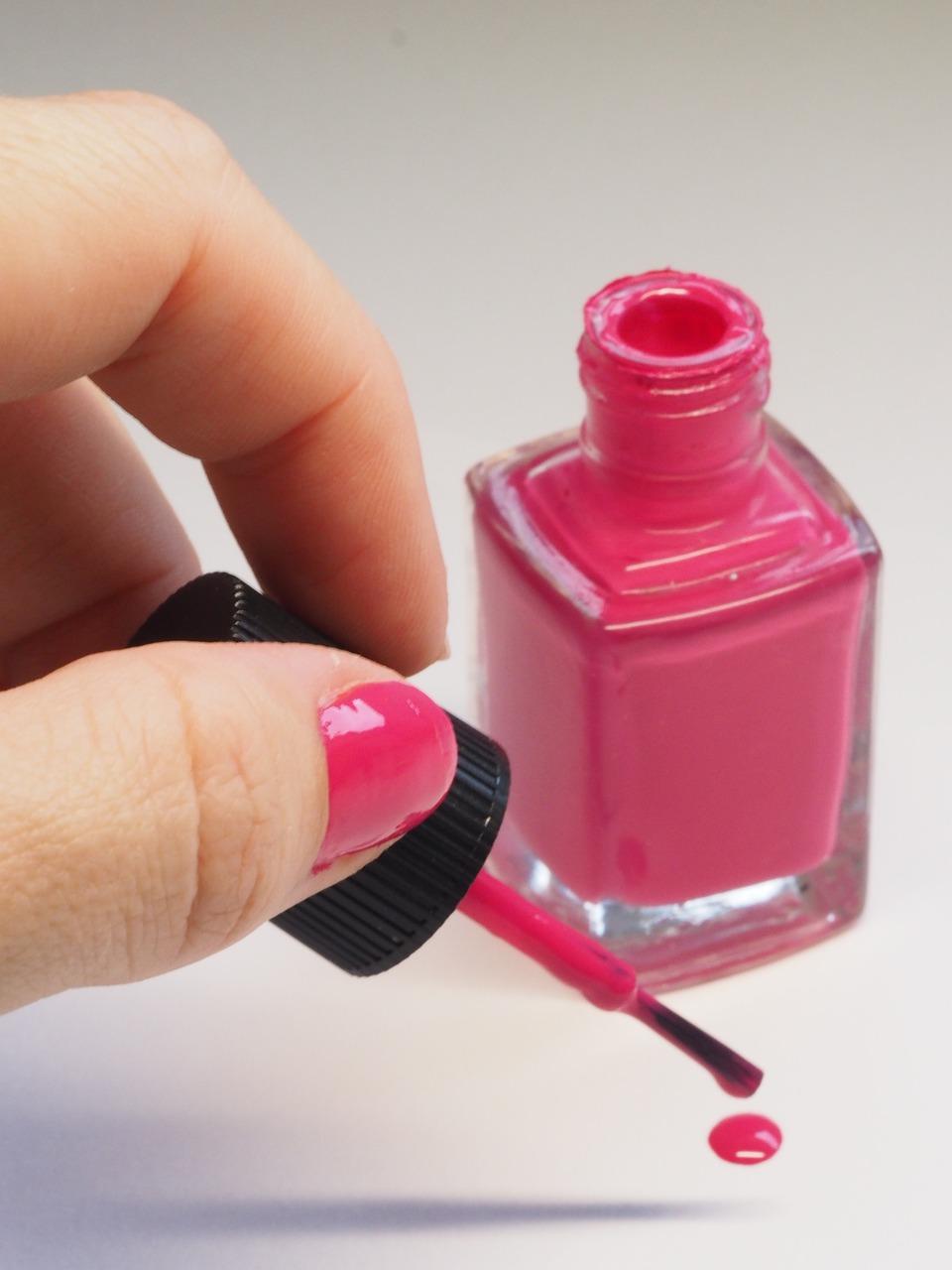 nail, treatment, polish