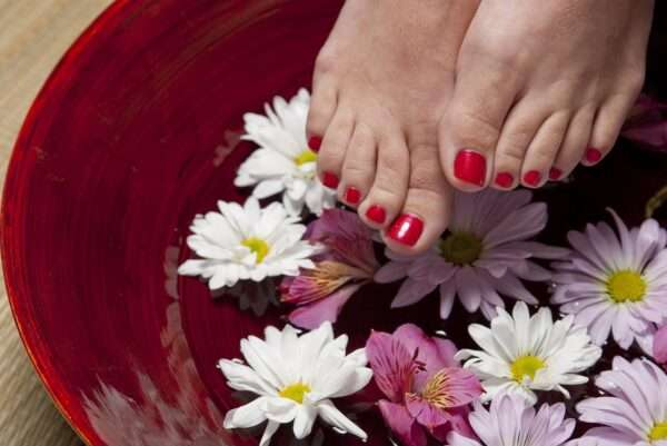 foot, pedicure, spa