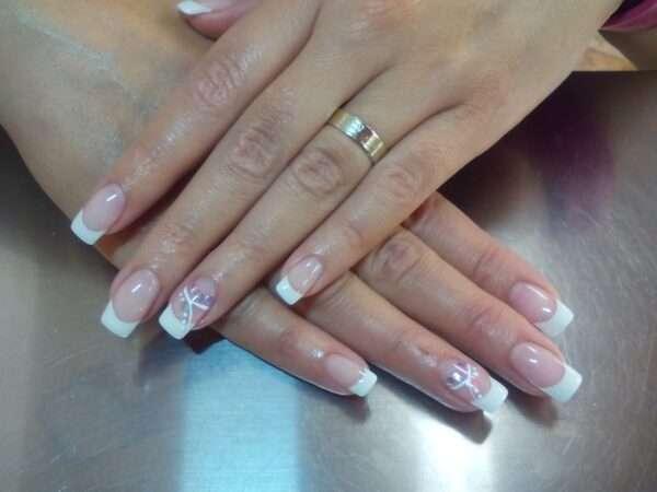 nail, gel, manicure